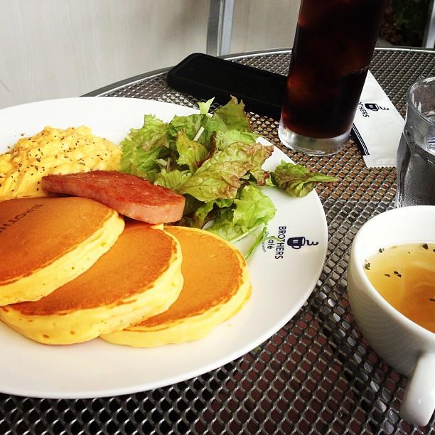 pancakes, Brothers's Cafe Osaka