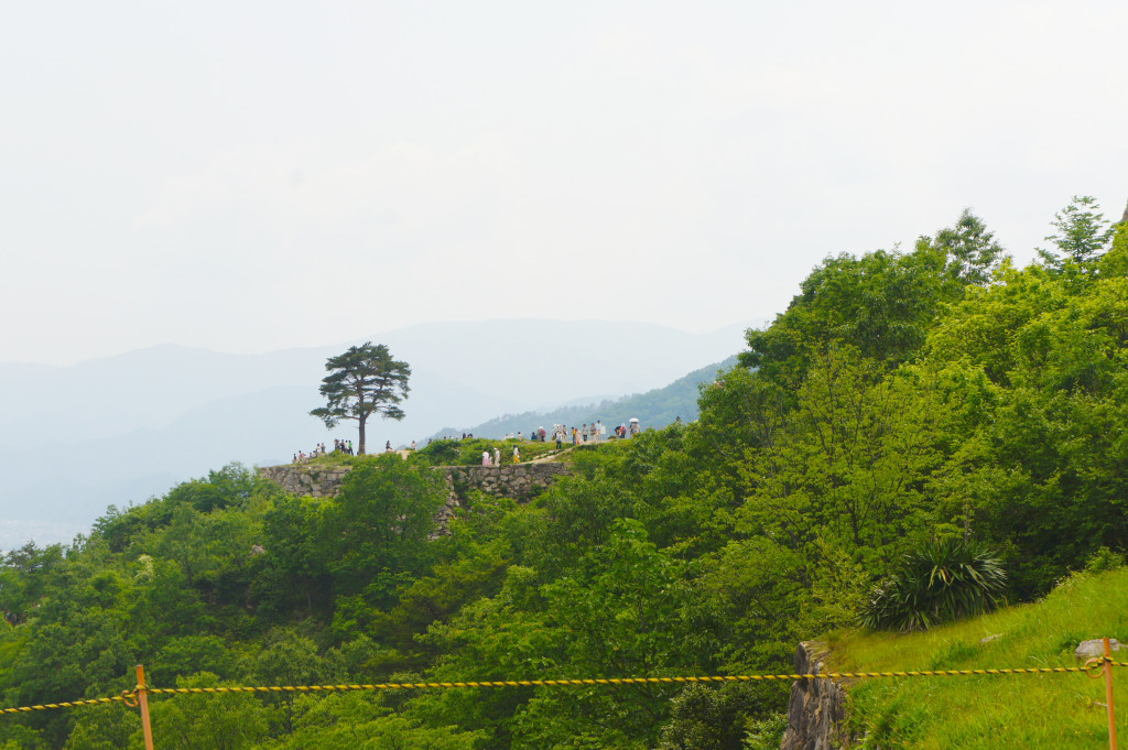 Takeda Castle @ Asago District in Hyogo Prefecture