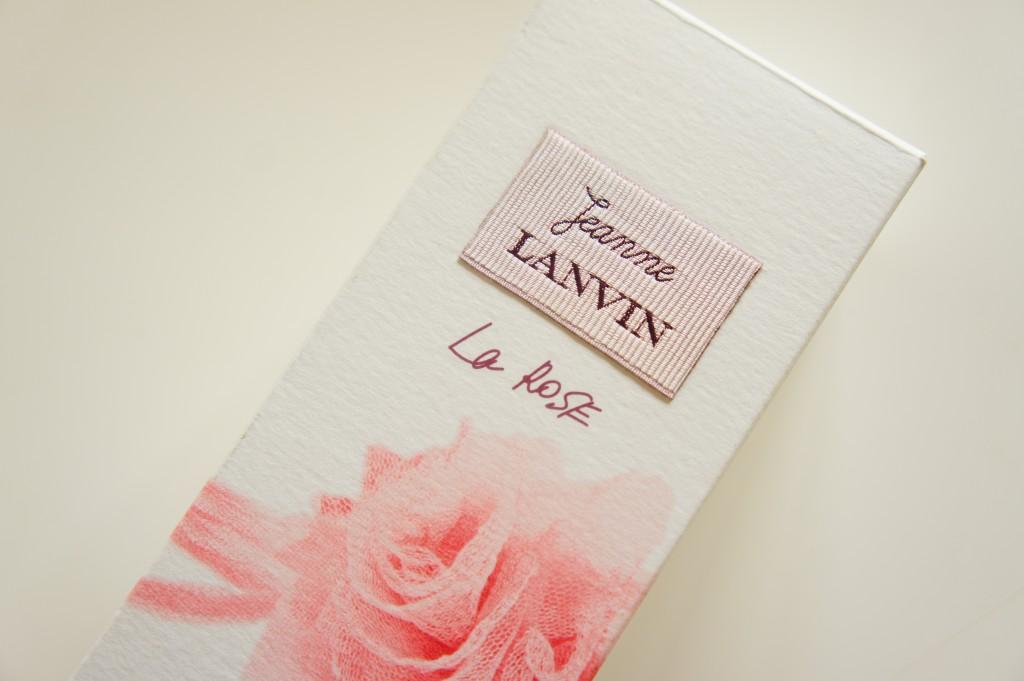 Jeanne Lanvin ジャンヌ ランバン La Rose Perfume