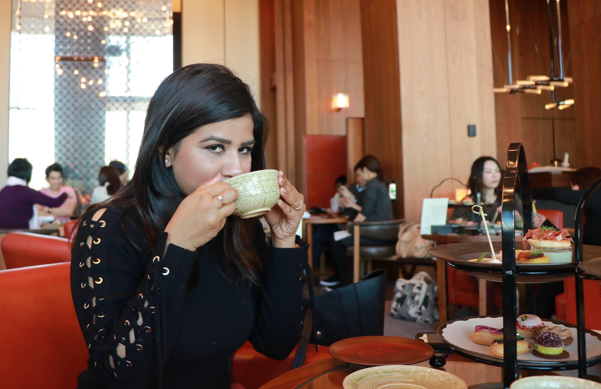 Afternoon tea at Andaz Toranomon Hills